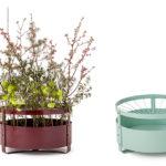 Gro planteringskärl/vas rund, design Mia Cullin. Nyhet 2019