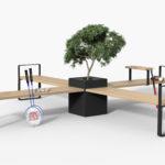 Central möbelsystem, design Thomas Bernstrand. Nyhet 2019