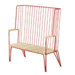 Gard backed bench, design Odin Brange Sollie.