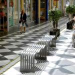 The Wave bench. Design Gunilla Hedlund