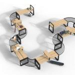 Central möbelsystem, design Thomas Bernstrand.