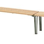 Gard long bench, design Odin Brange Sollie. News 2020