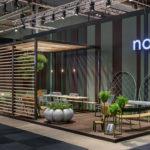 Nola stand at Stockholm Furniture Fair 2020.