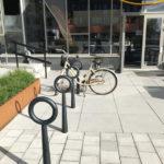 Hoop cykelpollare. Design Broberg & Ridderstråle. Malmö
