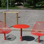 Korg möbelgrupp. Design Thomas Bernstrand
