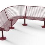 Korg soffa i byggsystem. Design Thomas Bernstrand